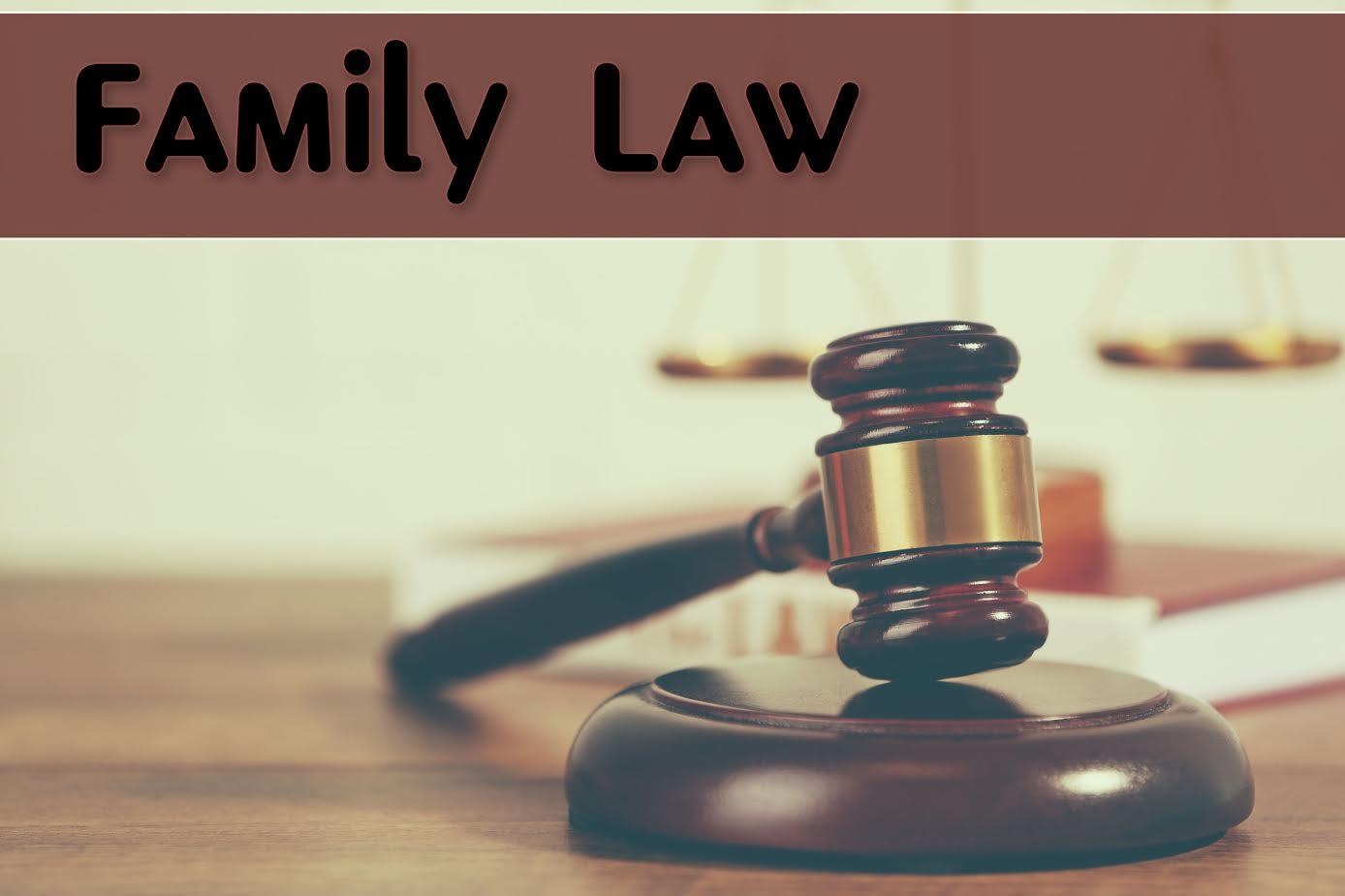 הסכמים במשפחה