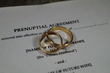 הסכמי ממון / הסכמי טרום נישואין